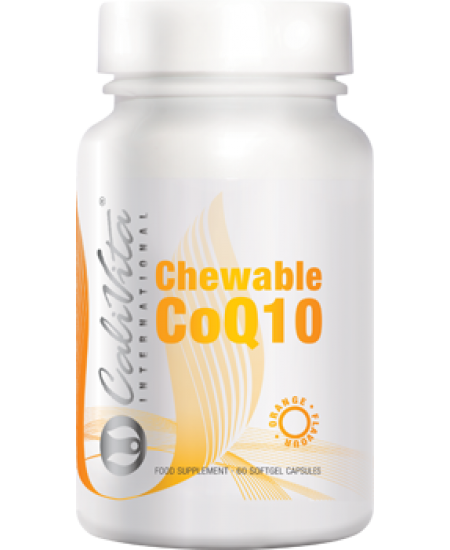 Chewable CoQ10 orange Calivita