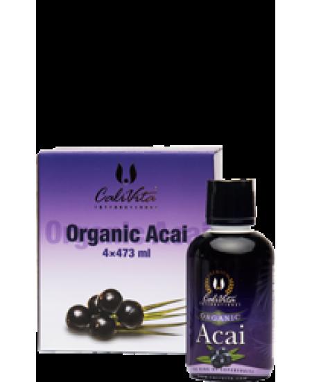 Pachet Organic Acai Calivita (3+1)