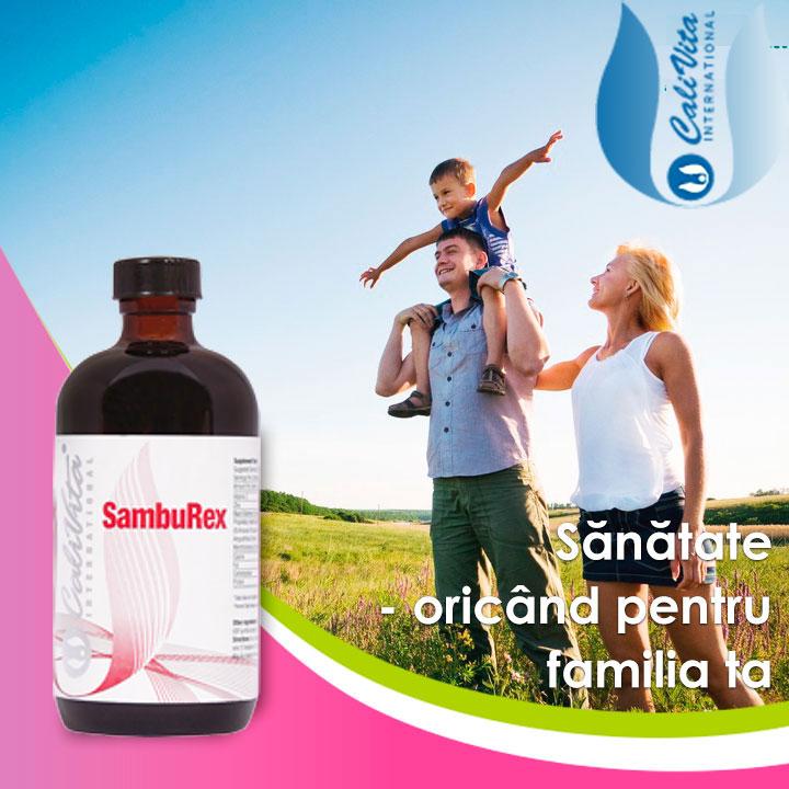 samburex calivita pentru intreaga familie